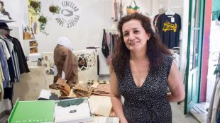 Paloma Garc�a en su tienda The Circular Proyect