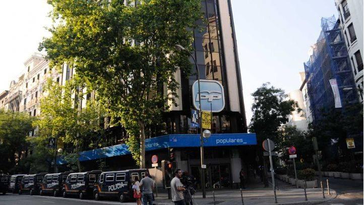 El juez pide al PP una fianza civil de hasta 1,2 millones de euros por la 'caja B'