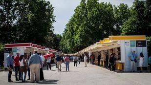 Feria del Libro 2015 en el Parque del Retiro (Archivo)