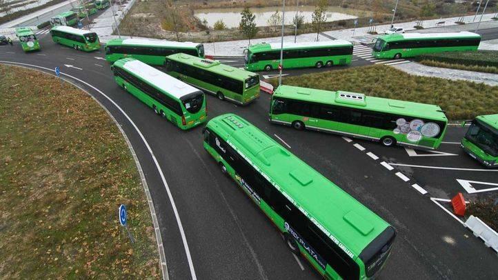 Huelga en la empresa de autobuses de Estremera, Villarejo, Fuentidueña, Belmonte, Villamanrique y Perales