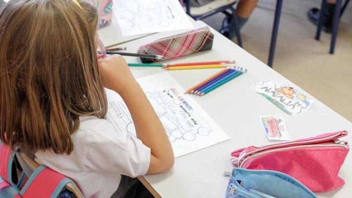 Retirada una prueba para alumnos de Infantil enviada por