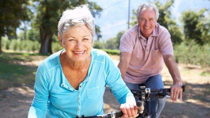 Ciclistas mayores