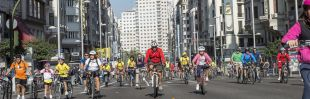 La bicicleta coge nuevo impulso en Madrid