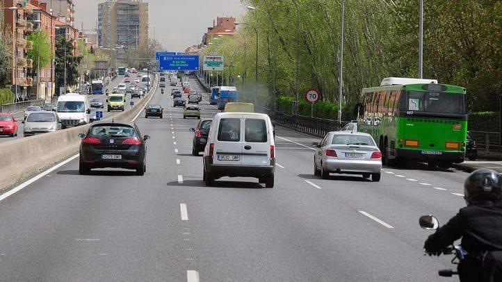A5 autovía carretera a Extremadura en Aluche (archivo)