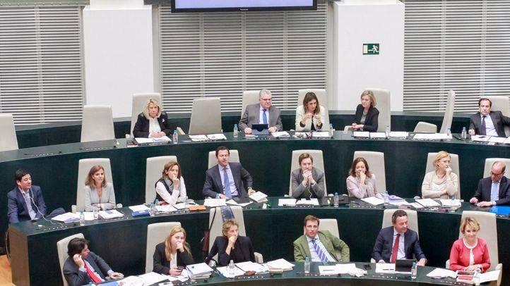 Pleno en el Ayuntamiento de Madrid (archivo).