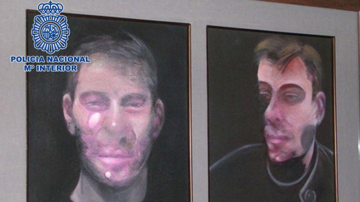 Siete detenidos por el robo de cinco Francis Bacon