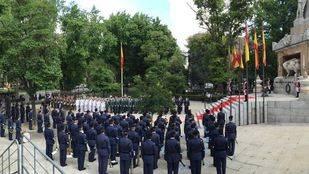 Homenaje en el Día de las Fuerzas Armadas en Madrid