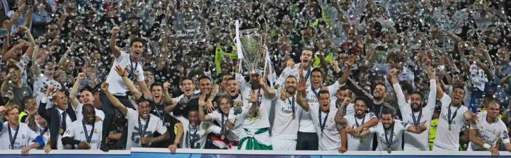 El Real Madrid levanta su undécima copa de Champions