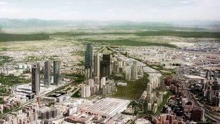 Nuevo proyecto Distrito CAstellana Norte que sustituye a la 'operaci�n Chamartin'.
