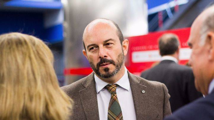 Pedro Roll�n, consejero de Transportes. (Archivo)