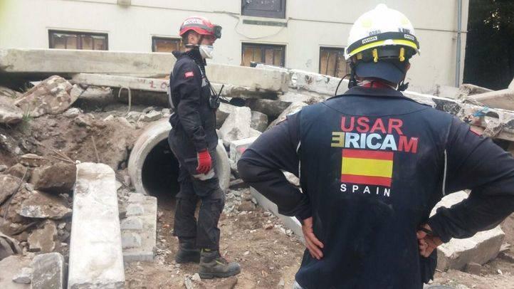El ERICAM supera las pruebas de reclasificación como equipo internacional de rescate