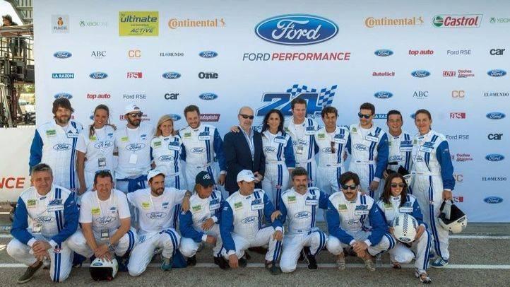 Embajadores de la carrera 24 Horas Ford