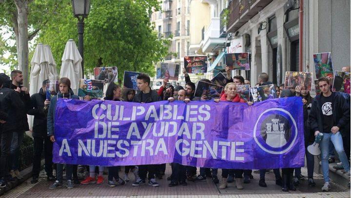 Concentración de Hogar Social Madrid. (Archivo)
