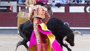 Una corrida de toros en Las Ventas