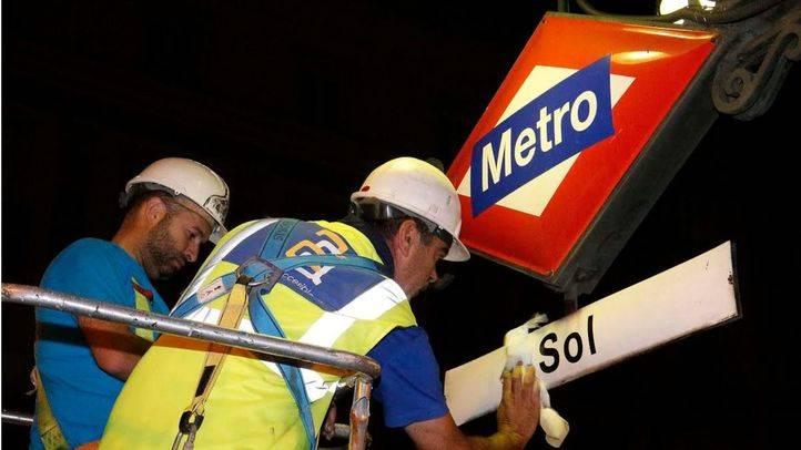 Metro tardará aún dos meses en eliminar la publicidad de Vodafone en la red