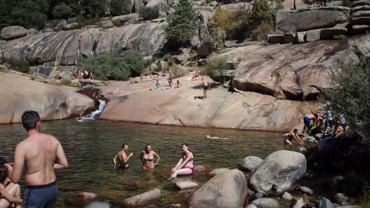 Entra en vigor la prohibición del baño en La Pedriza