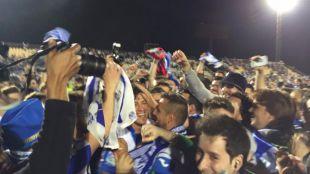 El Leganés logra un histórico ascenso a Primera División