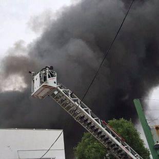 Incendio en Alcalá