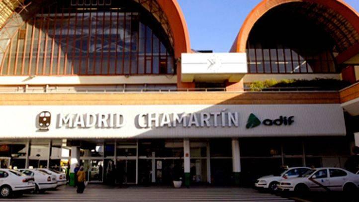 Obras para adaptar la estación de Chamartín al AVE