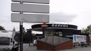 Gasolinera situada en Atocha que pasará a ser una zona verde (archivo)