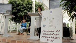Presentación del Plan Director del Arbolado de los Jardines del Parque del Buen Retiro