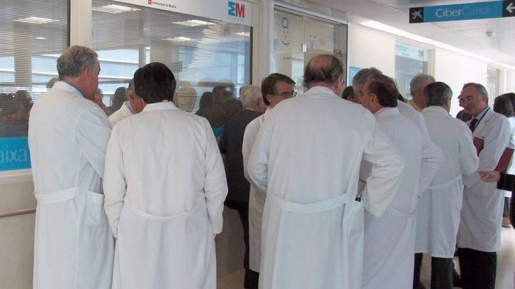 Un total de 288 médicos del SERMAS secundan las concentraciones convocadas por sindicatos