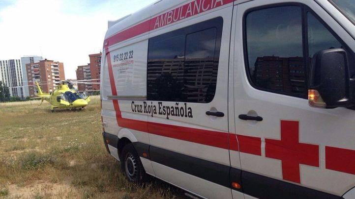 Herida grave una mujer al sufrir la semiamputación de un brazo tras chocar su coche