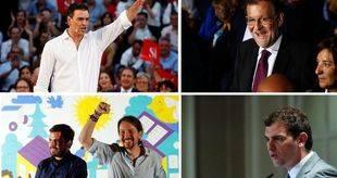 Los partidos dan el pistoletazo de salida a la campaña electoral