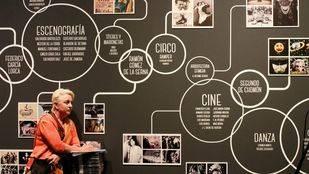 Exposición Intermedios en el Centro Cultural Conde Duque.