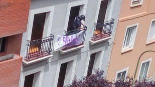 Desalojado el nuevo CSOA 'La Osa Morada'