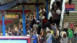Seguimiento del 100% en la primera jornada de paros en Metro