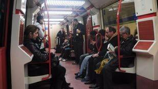 Los viajeros de Metro aumentaron un 8,9% en abril frente a los de EMT, que crecieron un 9,6%