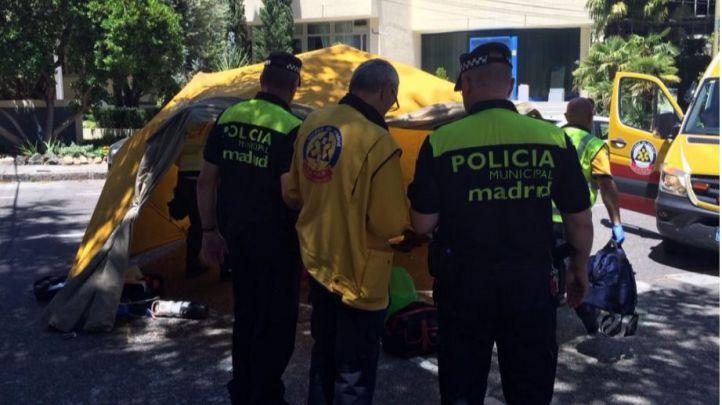 Fallece un motorista tras impactar contra un coche en Hortaleza