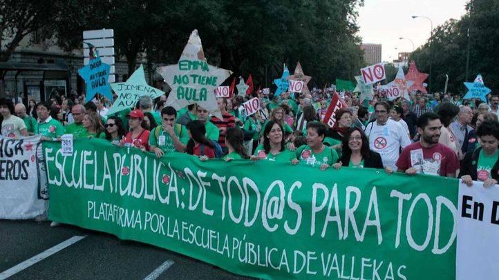Critican falta de plazas en centros públicos en el Ensanche de Vallecas y Educación ve la oferta