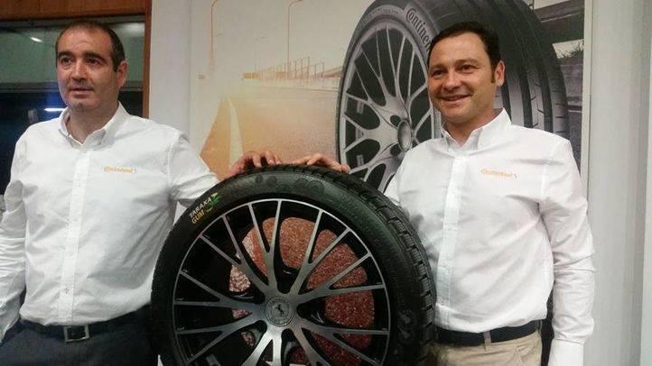 Continental busca el neumático del futuro a través de la planta Diente de León