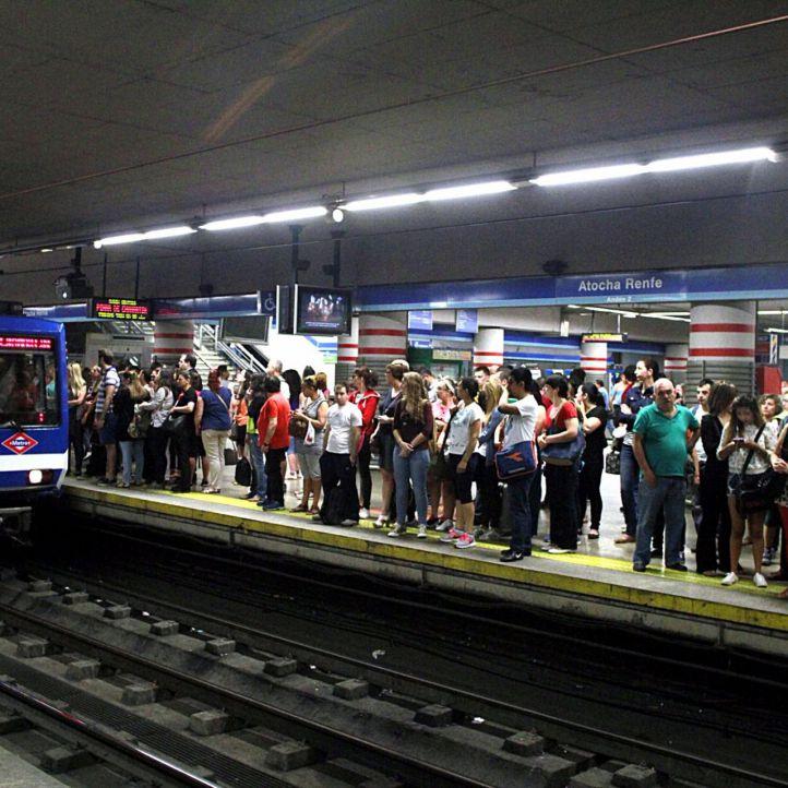 Segundo día de paros parciales tanto en metro de Madrid como de maquinistas de Renfe.