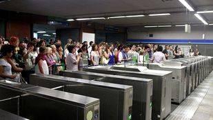 El seguimiento de los paros de Metro ronda el 95% este miércoles