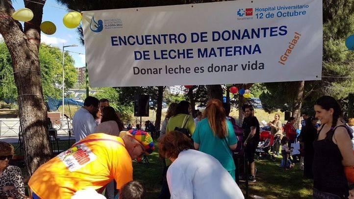 El 12 de Octubre homenajea a las donantes de leche materna