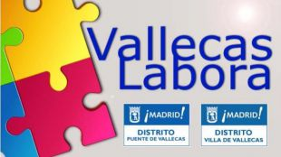 Cartel de Vallecas Labora