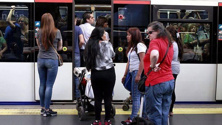 El Metro de Madrid vive este jueves tres nuevos turnos de paros
