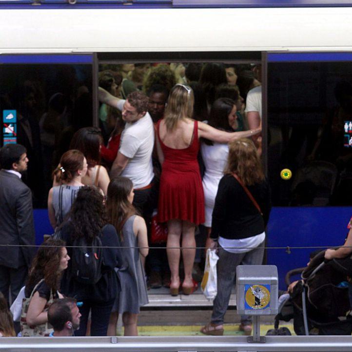 El seguimiento de los paros de la mañana en Metro supera el 90% este jueves