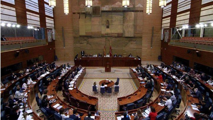 Asamblea de Madrid (Archivo)