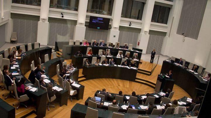 Pleno del Ayuntamiento de Madrid. (Archivo)