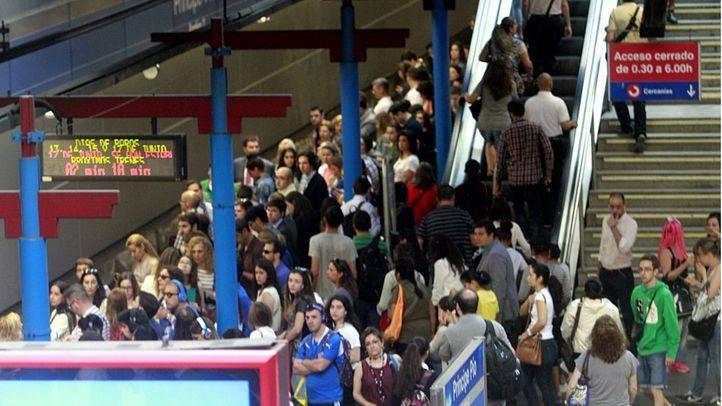 La asamblea de maquinistas de Metro acuerda mantener los paros parciales para la semana que viene