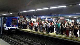 Metro cifra en un 94% el seguimiento de los paros parciales de este lunes