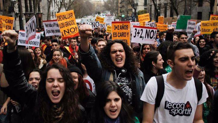 El Sindicato de Estudiantes convoca una huelga general los días 18,19 y 20 de octubre