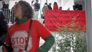 Los desahucios caen un 22,5% en el primer trimestre en Madrid