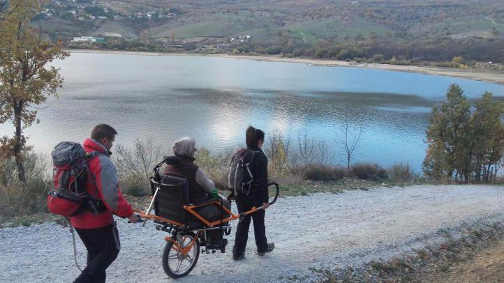 Senderismo accesible y sin barreras en la Sierra de Madrid