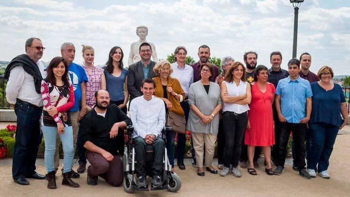 Equipo de concejales de Ahora Madrid (archivo).