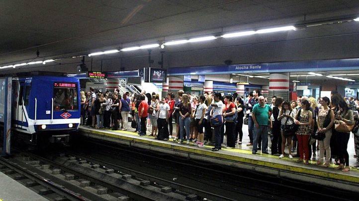 Continúan este miércoles los paros parciales en Metro